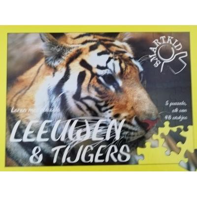 Puzzelboek Leeuwen en tijgers