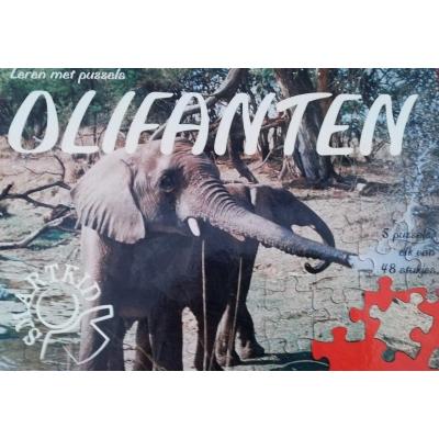 Puzzelboek Olifanten